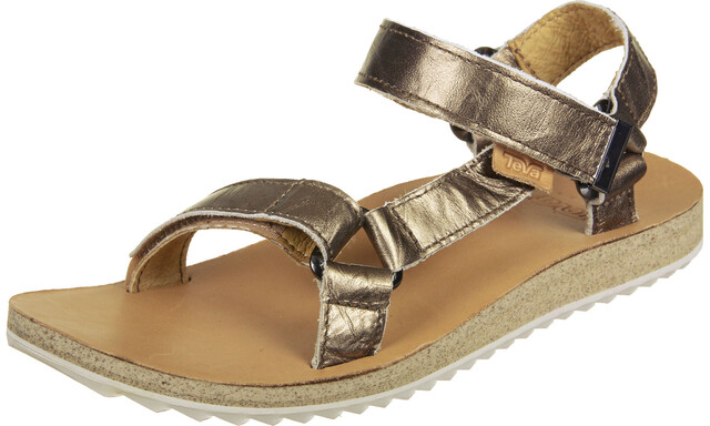 Teva Original Universal Mirrored Sandalen Dames, bronze